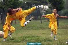 Celebrate #Worldcup with Shaolin Soccer