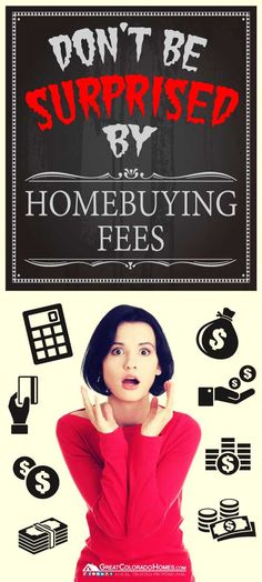 Here's a breakdown of all the potential fees that you may be paying when you buy a home. #realestate #expenses