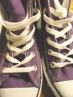 purple converse!