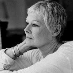 Judy Dench: incredibly beautiful and no need for botox or fillers