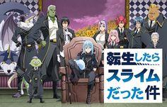 Slime Season 2, Slime Wallpaper, Upcoming Anime, Manga Art, Anime Art, Anime Songs, Anime Japan, Manga Covers, Awesome Anime