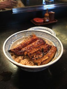 Unadon (Grilled Eel on Rice) うな丼