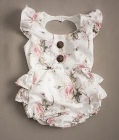 Have you seen our new Vintage Rose Ruffle Bum Romper? - Baby Girl Dress - Ideas of Baby Girl Dress Baby Girl Fashion, Fashion Kids, Fashion Wear, Fashion Outfits, Cute Babies, Baby Kids, Baby Arrival, Cute Baby Clothes, Vintage Baby Clothes