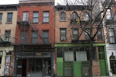 Noho, Manhattan, New York City, New York, United States    The NoHo East Historic District, which is centered on Bleecker Street between the Bowery and Lafayette Street, consists of forty-two buildings constructed between the early nineteenth and the e