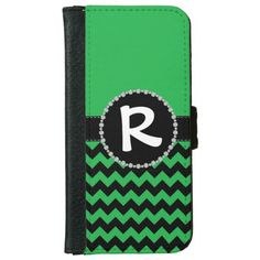 Green Chevron, Diamond Ribbon Flap