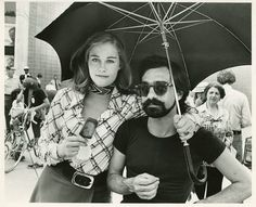 Martin Scorsese and Cybill Shepherd on the set of Taxi Driver...NYC