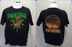 PANTERA Vintage 1996 T Shirt The Great Southern Trendkill sz XL Winterland #Winterland #BasicTee