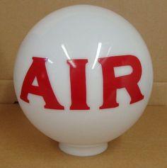 """Gas Pump Air Globe 8"""" Globe 3"""" Base *Gas"""