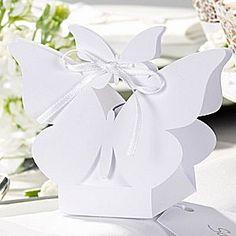 Butterfly Wedding Favour Boxes - #uniqueweddingfavours