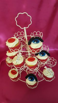 Cupcakes for botox party