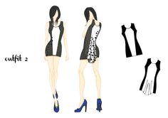 outfit 2 | design by Martina Picotti #fashion #illustration