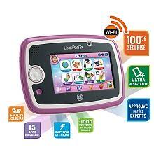 Tablette tactile Leappad 3x rose  - marque : Leapfrog Avec de nombreuses innovations, la nouvelle tablette LeapPad 3x est vraiment LA tablette éducative des enfants.Batterie Lithium/Polymère intégrée, grand écran 5'', processeur ... prix : 99.99 €  chez Toys R us #Leapfrog #ToysRus