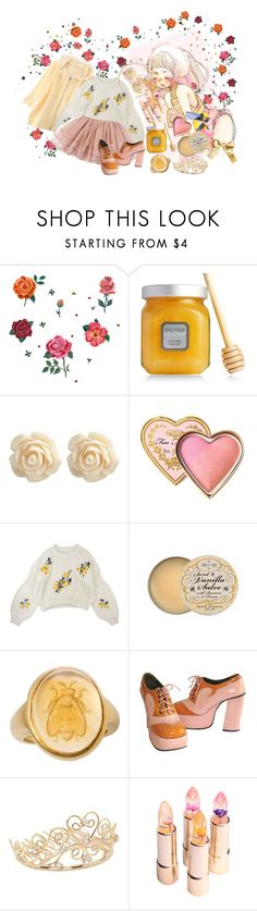 """✨ q u e e n 🐝 & L G 🐝T ✨"" by disney-loves-mel ❤ liked on Polyvore featuring DOMESTIC, Disney, Laura Mercier, Wet Seal, Rose & Co., Dean Harris and Jon Richard"