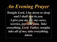 Night prayers on pinterest good night prayer good night and night