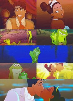 Disney Couples - Tiana and Naveen
