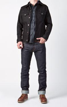 CULTIZM - Carefully selected menswear since Shop over 100 brands in our online shop. Denim Jacket Men, Men Shorts, Denim Jackets, Gents Fashion, Fashion 2020, Raw Denim, Men's Denim, Teenage Boy Fashion, Estilo Denim