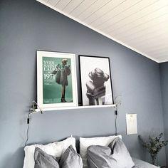 pilasterblå - Soverom farge