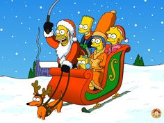 The Simpsons ~ Merry Christmas Cartoon Wallpaper, Simpson Wallpaper Iphone, Wallpaper Iphone Disney, Christmas Cartoons, Christmas Humor, Merry Christmas, Green Christmas, Disney Christmas, The Simpsons