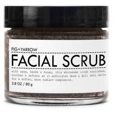 Facial Scrub design by Fig and Yarrow ($22) ❤ liked on Polyvore featuring beau... Check more at http://www.yourfacebeauty.info/facial-scrub-design-by-fig-and-yarrow-22-%e2%9d%a4-liked-on-polyvore-featuring-beau/