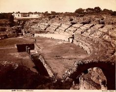 Siracusa Anfiteatro, Catalogue of Giorgio Sommer's pictures - Wikimedia Commons