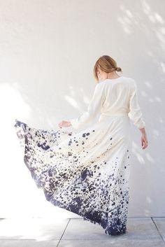 Kamperett Linden Silk Wrap Dress