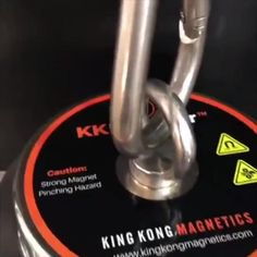 King Kong Magnetics Fishing Magnet - Super Strong Neodymium Magnet for Pulling up to 2000 Lb - Includes Thread Locker Magnet Fishing, Fishing Kit, Kayak Fishing, Camping Games, Camping Gear, Art Of Manliness, A Beast, Metal Detector, Big Daddy