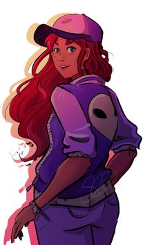 Teen Titans Starfire, Starfire And Raven, Teen Titans Fanart, Bull Tv, Robin The Boy Wonder, Best Superhero, Young Justice, Dc Heroes, Star Art