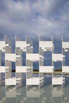 Casalgrande Ceramic Cloud , Casalgrande, Reggio Emilia, Italy by Kengo Kuma Architects :: monument