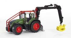Fendt 936 Vario Forestry Tractor - Vehicle Toys by Bruder Trucks Play Vehicles, Farm Toys, Outdoor Play, Renewable Energy, Scale Models, Games To Play, Outdoor Power Equipment, Engineering, The Incredibles