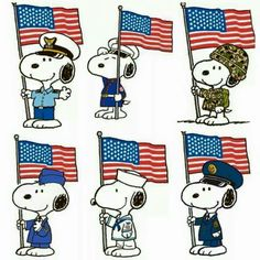 Veteran's Day Snoopy