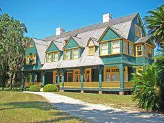 Jekyll Island, GA  Moss Cottage (built 1896)