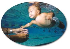 Things to do to get your child comfortable in the pool.