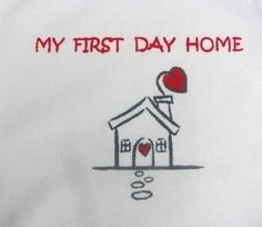 Organic My First Day Home, Coming Home Outfit baby onesie body suit on Etsy, $17.00