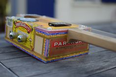Home Made Guitars Cigarbox