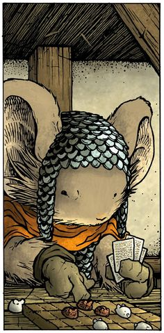 mouse guard comic book pdf