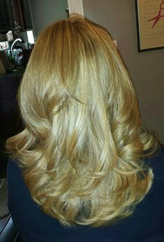 Blonde cream highlights and lowlights