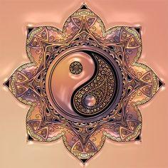 Arte Yin Yang, Yin Yang Art, Yin Yang Tattoos, Foto Logo, Mandela Patterns, Yin Yang Designs, Classroom Art Projects, Dot Painting, Painting Wallpaper