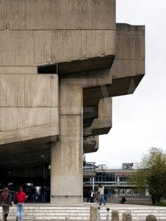 Brunel University Lecture Centre - a classic example of 1960's 'Brutalist' architecture and featured in Kubrick's cult classic A Clockwork Orange