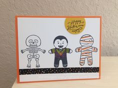Cookie cutter Halloween from Stampin' Up's holiday mini