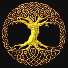 Baum des Lebens -> Idee für Linolschnitt