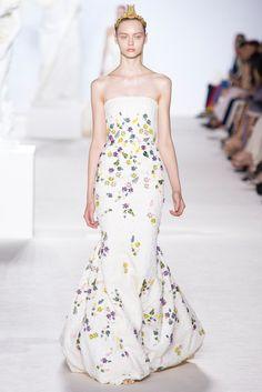 Giambattista Valli Fall 2013 Couture Fashion Show - Nastya Kusakina (Women)