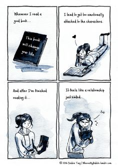 Too emotionally attached to books :(