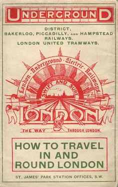 London: Old poster of the London Underground >> See the Deals!