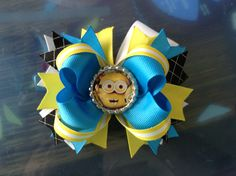 Despicable Me hairbow