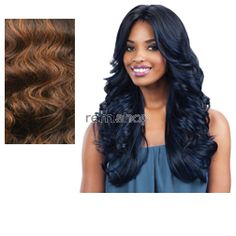 Equal (SNG) Lace Deep Invisible L Part Mackenzie  - Color SOP43027 - Synthetic (Curling Iron Safe) Closed Invisible Part Lace Front Wig - Closed Invisible Part