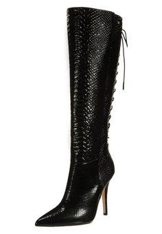 Elisabetta Franchi Lace-Up Boots