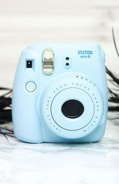 Fujifilm - Instax Mini 8 Camera - Blue