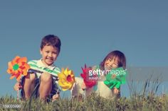 03-04 Boy and girl, siblings, wearing casual clothing, making... #medvode: 03-04 Boy and girl, siblings, wearing casual clothing,… #medvode
