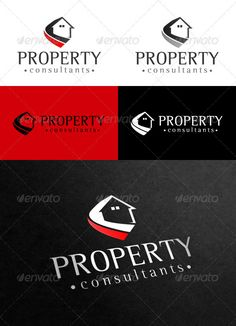 Property Consultants'  Logo Design Template Vector #logotype Download it here:  http://graphicriver.net/item/property-consultants-logo/1866011?s_rank=323?ref=nexion