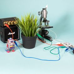 Add interactivity to everyday objects: use your houseplants, cutlery and more to trigger sounds on the Touch Board! Everyday Objects, Card Reader, Laptop Computers, Sd Card, Houseplants, Boards, Touch, Cutlery, Projects